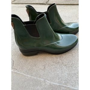 Ariat Forest Green Rubber Ankle Boots